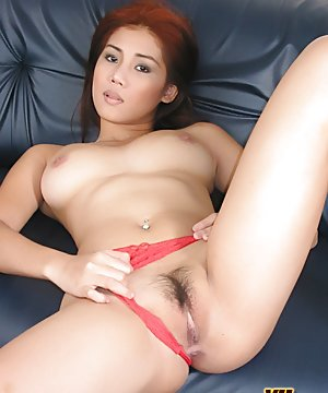 Nude Asian Spreading