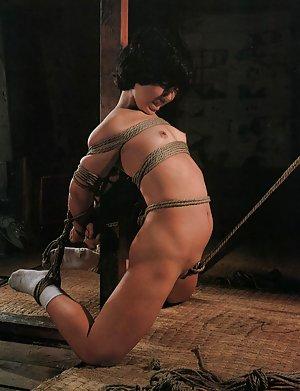 Nude Asian Bondage