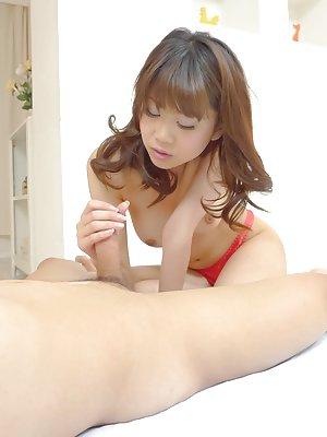 Nude Asian Handjob